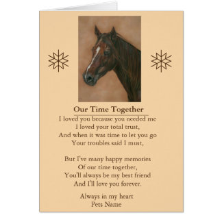 pet sympathy poem original customizable message card