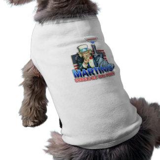 Pet T-shirt - Martinis Should Be Tax Free