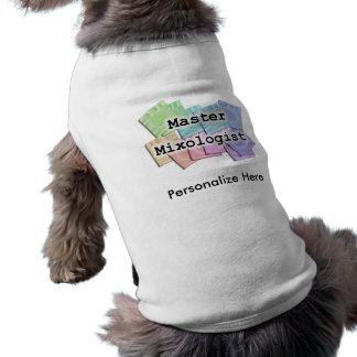 Pet T-shirt - MASTER MIXOLOGIST