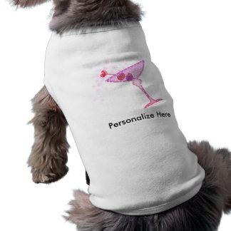 Pet T-shirt - PINK MARTINI