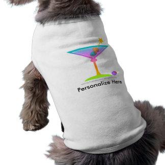Pet T-shirt - RAINBOW MARTINI