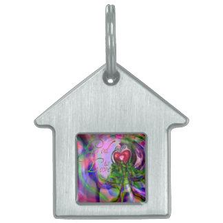 Pet Tag/ Keychain ``God is Love´´ Pet Tag