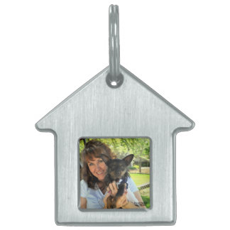 Pet tag with picture of you and your pet