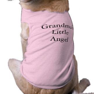 Pet Tee:  Grandma's Little Angel Shirt
