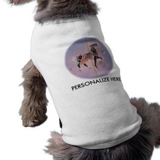 Pet Tees - Petaluma Carousel Horse 2 Dog Clothing