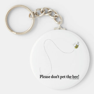 Pet the Bee! Keychain