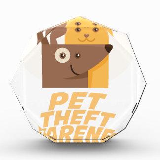 Pet Theft Awareness Day - 14th February Acrylic Award