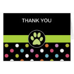 Pet Theme Business Thank You Cards
