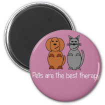 Pet Therapy Magnet