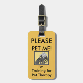 Pet Therapy Tag