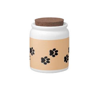 Pet Treat Jar Candy Jars