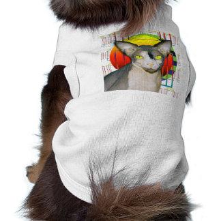 Pet TShirt | Sphynx Cat Ninja Crazy Cat Design