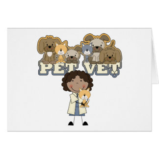 Pet Vet AA Female Tshirts and Gifts Card