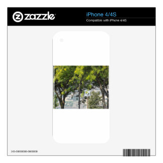 Pet Walk with Trees Decals For iPhone 4S