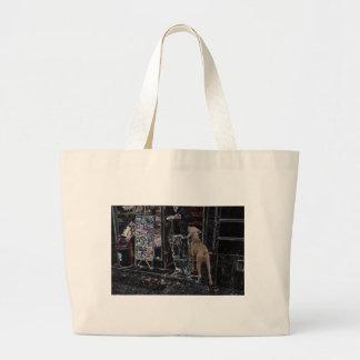 Pet Walker or Pet Sitter Large Tote Bag