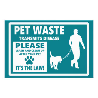 PET WASTE - Courtesy Notice Flyer