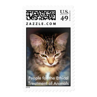 PETA Animal Stamp