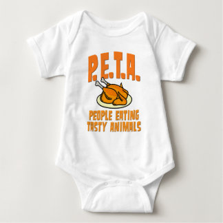 PETA People Eating Tasty Animals Baby Bodysuit