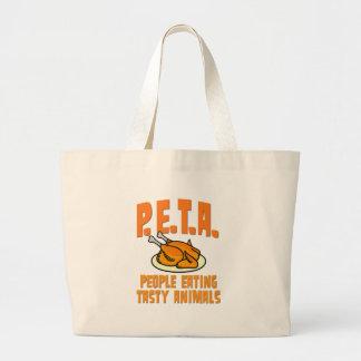 PETA People Eating Tasty Animals Bags