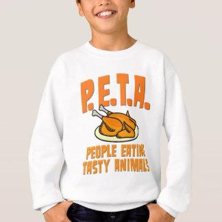 PETA People Eating Tasty Animals Sweatshirt