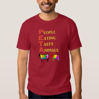 PETA People Eating Tasty Animals Tshirts