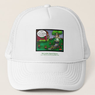 PETA & The Crabgrass Funny Ringer Men's Tee Trucker Hat