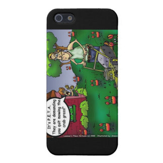 PETA & The Crabgrass Funny Tees Mugs Gifts Etc Cover For iPhone SE/5/5s