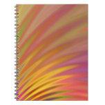 Petal Burst Abstract Notebook