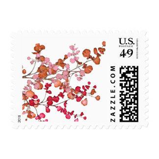 Petal Leaves ~ Postage Stamps