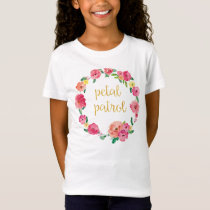 Petal Patrol Flower Girl Gift Shirt