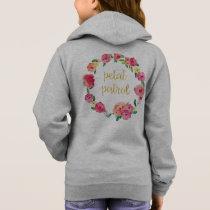 Petal Patrol Flower Girl Gift Sweatshirt