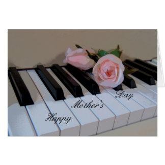 Petal Pink Keys Card