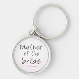 Petal Pink Mother of the Bride Gift Keychain