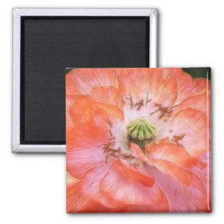 Petal Power - Ruffled Poppy Magnet
