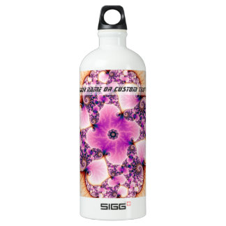 Petallic - Fractal Art Aluminum Water Bottle