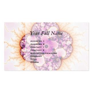Petallic - Fractal Art Business Card