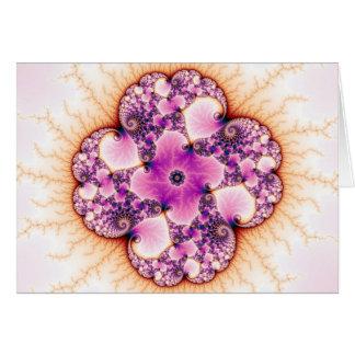 Petallic - Fractal Art Card