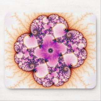 Petallic - Fractal Art Mouse Pad