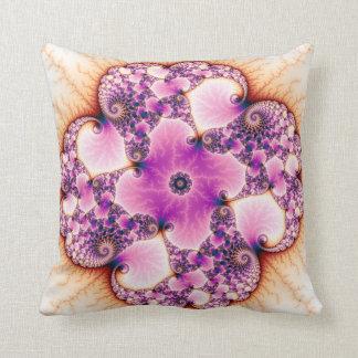 Petallic - Fractal Art Pillow