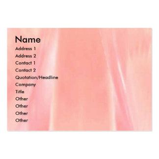Pétalo color de rosa sedoso tarjetas de visita grandes