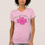 Pétalo de la flor del zen - respire camisetas
