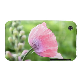 Pétalos de la amapola de Breadseed iPhone 3 Case-Mate Cárcasa
