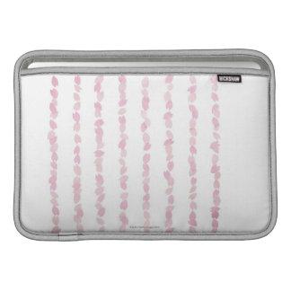 Pétalos de la flor de cerezo fundas para macbook air