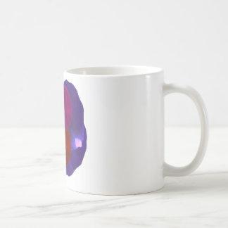 Pétalos de la flor taza de café