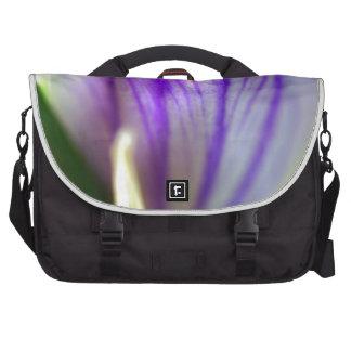 Pétalos del azafrán bolsas de portatil