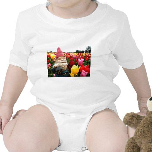 Pétalos del gnomo trajes de bebé