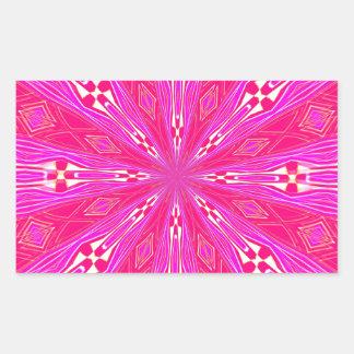 Pétalos en el punto rosa claro pegatina