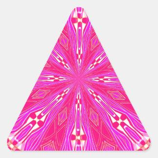 Pétalos en el punto rosa claro colcomanias trianguladas personalizadas