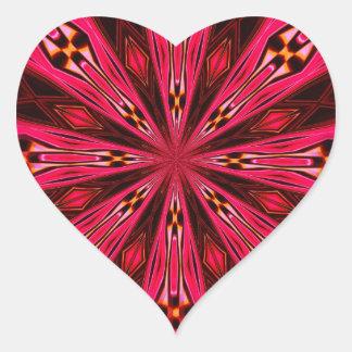 Pétalos en la frambuesa del punto colcomanias corazon personalizadas