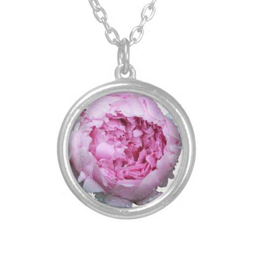 Pétalos florales rosados joyería
